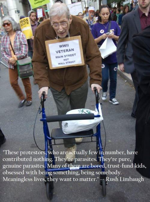 motherjones:  Best #OccupyWallStreet photo ever of the day.