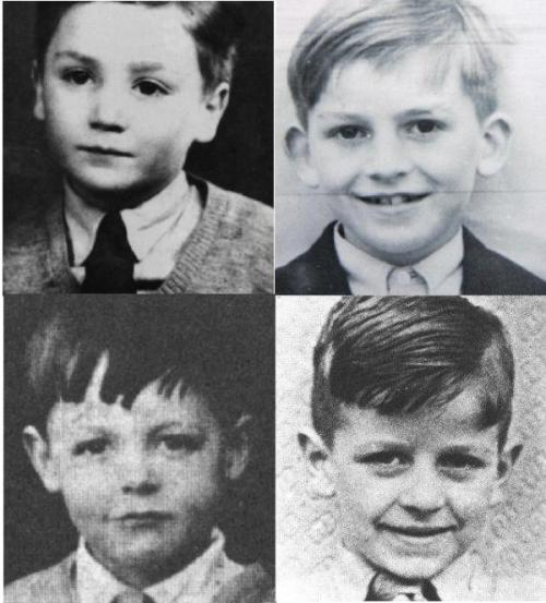 priscilamarynho:  Four Children who changed History of  Music *_*