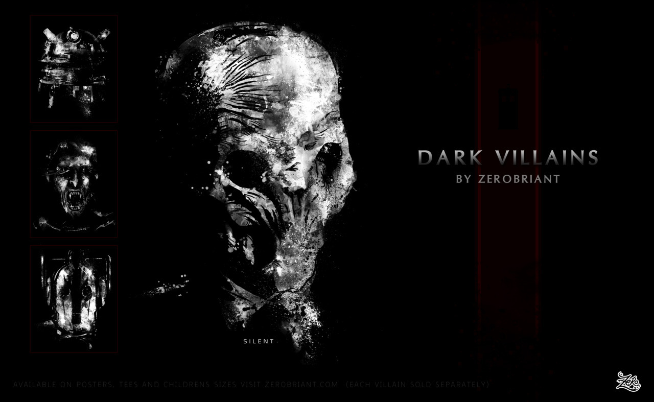 Get Dark this Halloween poster available at http://society6.com/zerobrianttees at http://www.redbubble.com/people/zerobriant/collections/50805-doctor-who please reblog :D