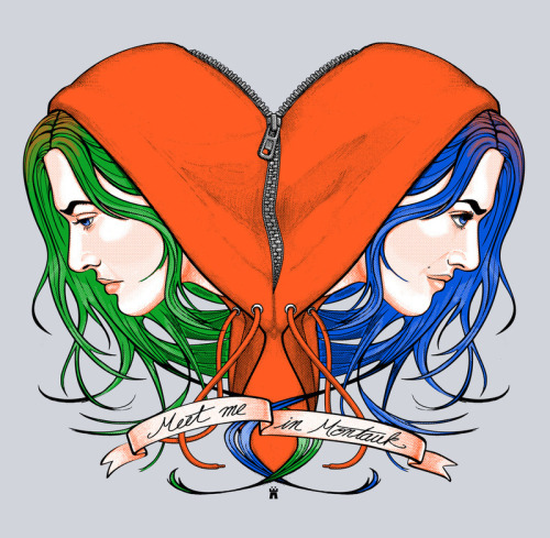 pacalin:  Clementine's Heart - by castlepop Prints and T-shirts available at society6.