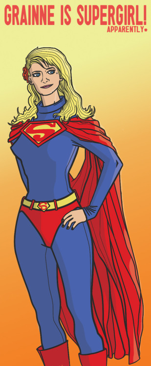 Supergirl Birthday Present!