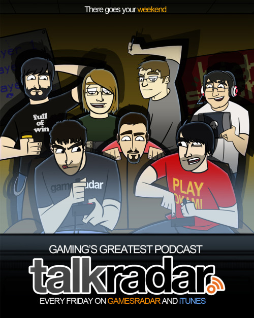 old Talkradar ad design. still think it could have won.