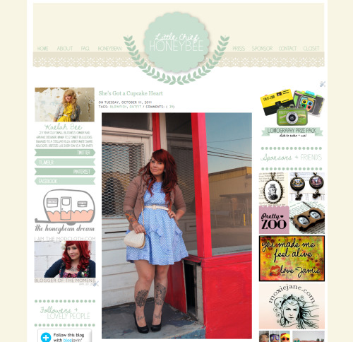 Little Chief Honeybee has a fresh new face! Drop by and check it out for yourself! xo