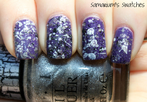 Beautylish Beauty Sarah E. shows off her splatter art nails! What are some color combinations you Beauties want to try?
