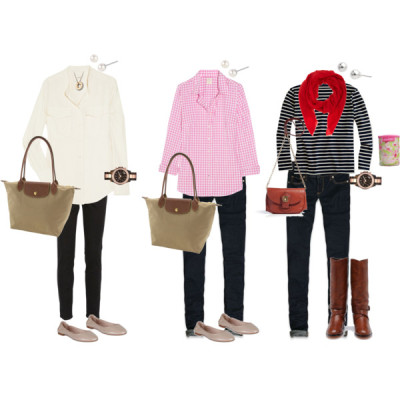 Maryland Homecoming Weekend by mkim57 featuring long sleeve blouses