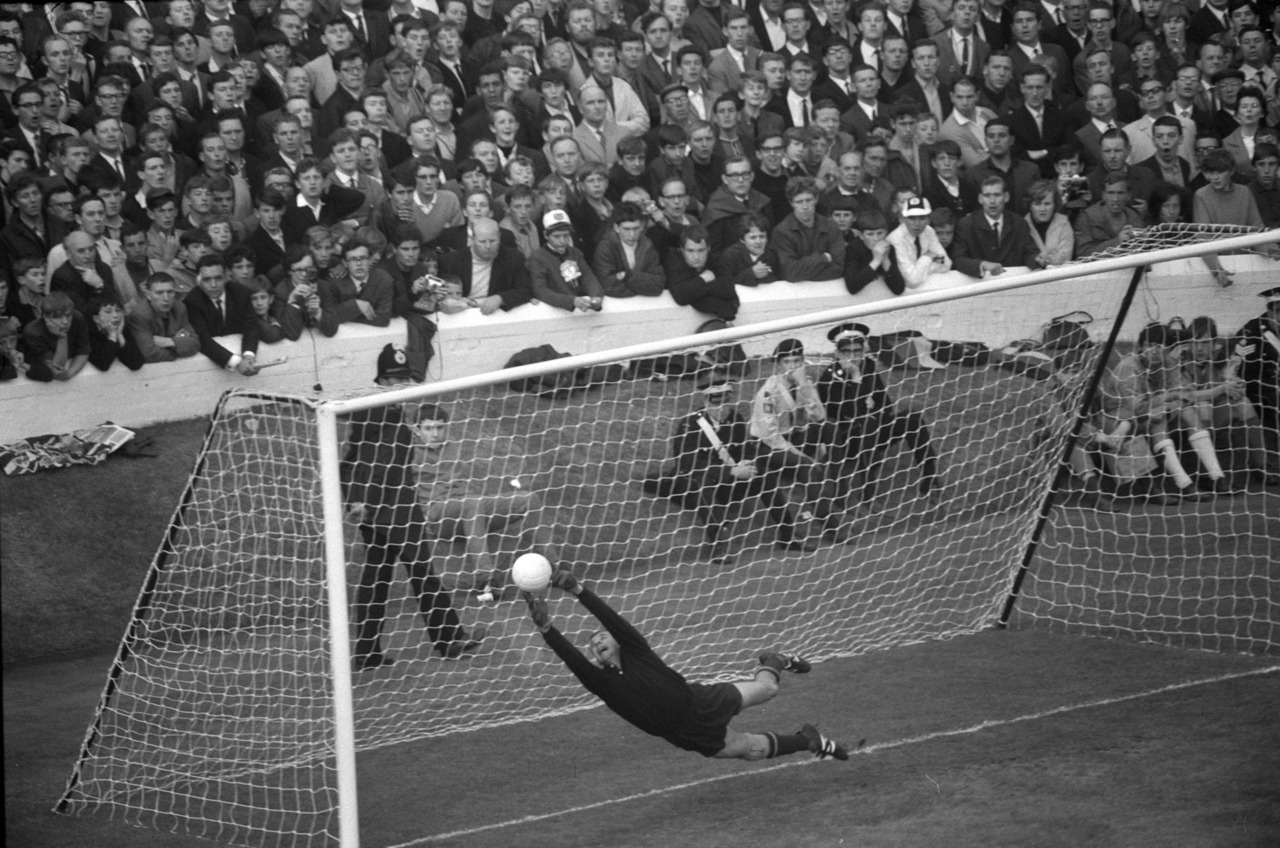 Lev Yashin v West Germany, 1966 World Cup semifinal.