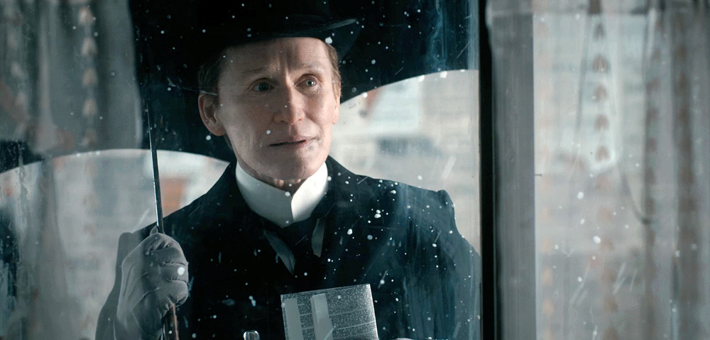Glenn Close stars in and as Albert Nobbs - watch the trailer to learn more.