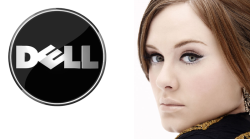 "Adele should be the DELL spokesperson ""Hi, I'm Adele"""