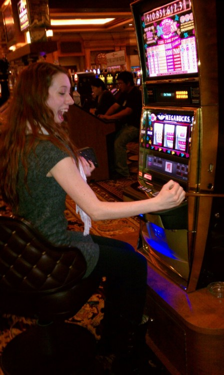 Yay for being 21! Haha but gambling is no fun… I lost a whole 2 dollars! Lol