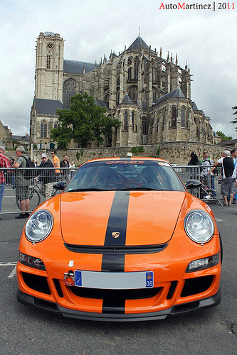 Splitted personality Starring: Porsche 997 GT3 RS (by Automartinez)