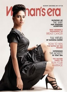 "Women's era cover captured by Top fashion and advertising photographer Praveen Bhat After a rigorous advertising shoot of an entire day, due to urgency this shoot started at around 10:00 PM . Women's Era which  is one of the oldest fashion magazine of Delhi has been famous for  its women oriented facts. Emphasis of the shoot was more on the female model's representation. Stylist had his garments showcased which made it easy for the entire shoot to commence. His words say it all "" I had visioned this entire shoot to be different from all the magazine shoots till date, avoiding open hair, straight shot and even the expression. I had kept everything in mind while shooting for the cover. It should be sensual and at the same time strong headed. "" Praveen Bhat, top and famous fashion and advertising photographer has his studio equipment and camera ready when he has set everything clear with the team. Strong team, efforts and vision makes it a success!!"