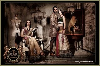 "Praveen Bhat, shoots for CTC Imperia It was determined this shoot would require an entire day and endless effort to make it a successful campaign for an Indian showroom with all the industry's big designers under one roof. Indian touch with foreign female models was a tough job but Praveen Bhat had it in his mind how to go about it. India's famous fashion and advertising photographer says it all in his own words "" I saw the team ready with their respective roles and I was making sure the backdrop has to be arranged well enough so that it makes the campaign an unseen one, so far. I visualized it to be very seductive with an Indian ingredient added to it. My team and I have made it all come true for CTC to launch themselves in an unique way. We would keep on working together for more and more of all these campaigns and more """