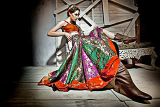 "Designer Amit Arora's collection shoot by Praveen Bhat (Fashion & Advertising photographer)  This shoot had to be planned keeping in mind to capture the exclusive designer collection in the best way. Designer Amit Arora had his vision organised in the best way with useful inputs delivered by his wife. Designer Silhouttes by Amit Arora, best Indian and western wear designer collection had to be presented in front of backgrounds that would lift up the garments in front of them. Top fashion and advertising photographer who has also launched famous names in the industry by their portfolios mentions ""It was a tough competition for me and my lens, hats off to Mr. Amit who takes care of every detail in his garment and the way he presents it. I picked up the most subtle backgrounds which had more of monotonous design so that the garment had more attention while a viewer would look at the shot""  The campaign has already started to hit the market….."