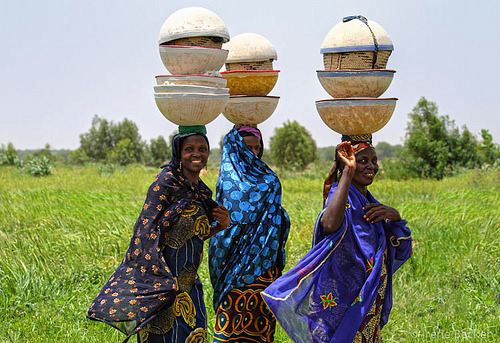 Fulani Women in Nigeria (by Iris (Irene Becker))