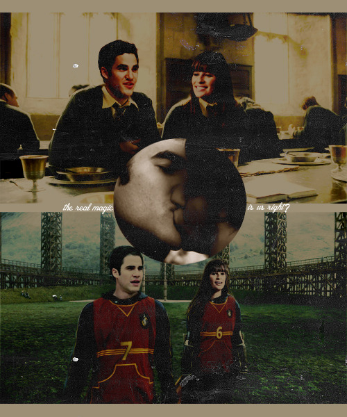 AU-Ships-Meme//requested by ukgleek: Learren/Raine at Hogwarts