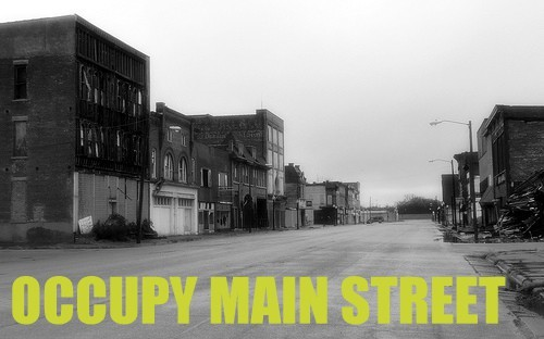 Occupy Main Street  by @oldmadegood