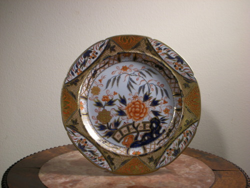 Antique English Mason's Ironstone Plate, Diameter: 24cm. Circa: early 19th century.