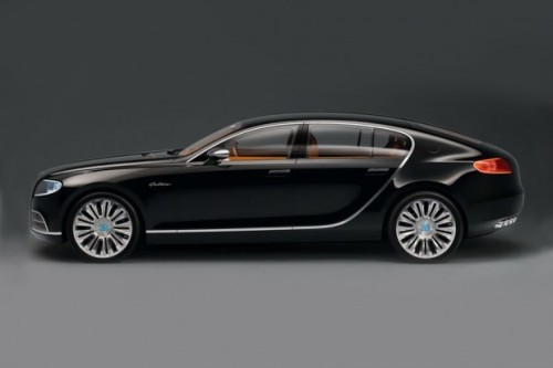 topgear:  Bugatti 16 C Galibier This French concept car is exciting the masses with it's sleek lines and overall look.  Set for production in 2015, this $1.4 million dollar car (yes, you heard us, one-point-four) will come with a Veyron 1000+ horsepower W-16 engine with twin superchargers.   (via HypeBeast)