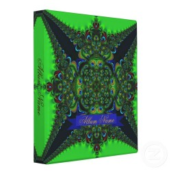 Peacock Lace Geometric Mandala Album by Paperstation