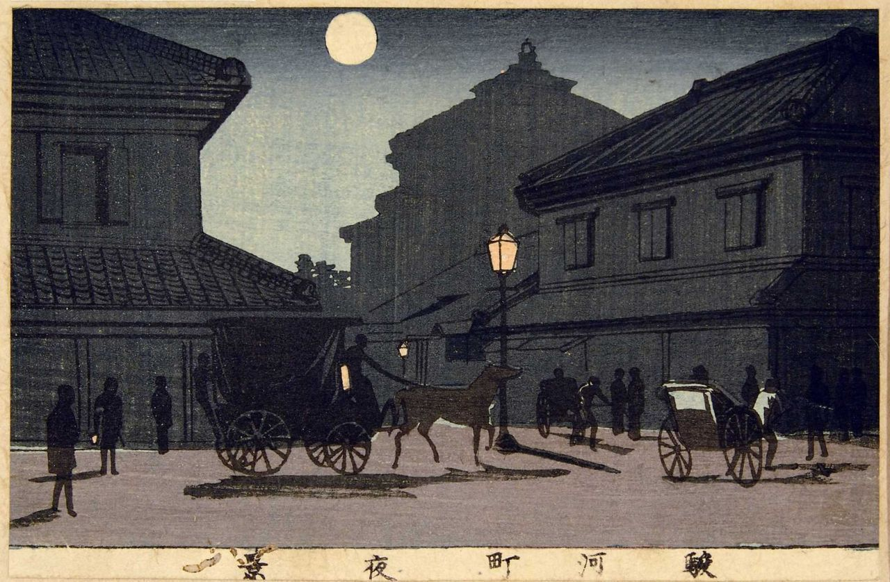 "安治(探景)  ""Suruga city at night"" Taiji"