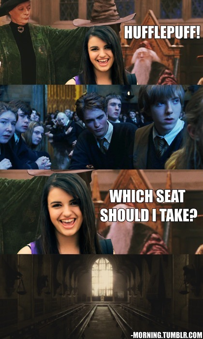No wonder why everyone hate Hufflepuff :(