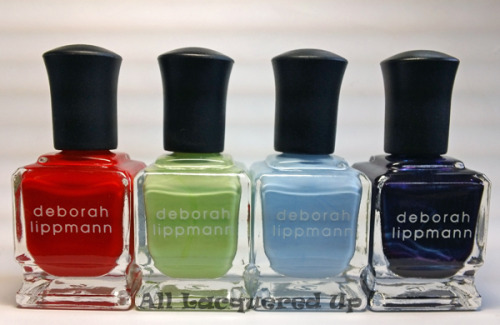 Everybody cut, everybody cut Footloose. @DeborahLippmann is part of a collaboration with HSN and the new Footloose flick opening tomorrow. While it hurts my feelings that the movie was remade, if it means we get some cool, new polishes from Lippmann, that softens the blow. From left to right: Footloose, Almost Paradise, Let's Hear It For The Boy, Dancing In The Sheets The polishes are sold in duos exclusively on HSN.com where they are currently on sale for $28.75
