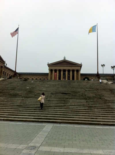The steps Rocky made famous..