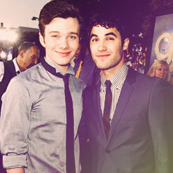 "chriscarsonkurt:   Darren: ""[Chris is] like a magical creature, like a really fun, magical.. I can't figure out what entity I want to say. Yeah, he's like… man, I'm trying to think of a good creature that's like, awesome. He's like a really playful wood nymph. A wood nymph that's caught in Chris Colfer's body. That's what I would say, because he loves – he's a really positive, playful guy.""   Chris: ""I'd say he's much more of a wood nymph than I am. I'm a total snow nymph."""