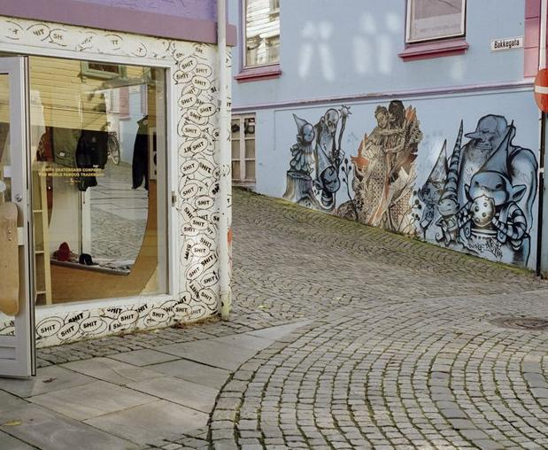 International artists head to the streets of the Norwegian town of Stavanger again this year to make their mark for the Nuart Festival