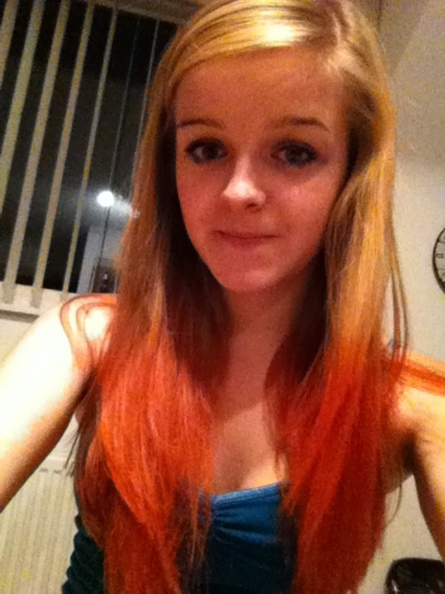 dip dye hair. u like?