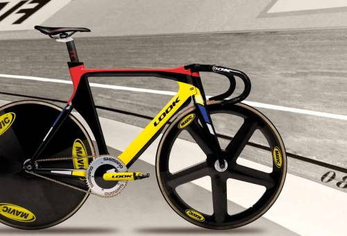 LOOK 496 ZED - LA FORMULE 1 DES VÉLODROMES   Ridden to a World Champion title and now available HERE.  So niiice.  Seen it on FGB.