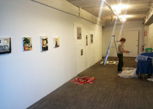 THE PINCH exhibition installation is finishing up, and the show looks great. Come on out tomorrow, Friday, the 14th, from 6-9pm to meet the artists and to have some beers and conversation! RSVP on Facebook Fowler Arts Collective67 West Street, 2nd FloorBrooklyn, NY 11222 xx