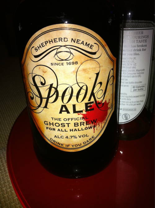 Shepherd Neame - Spooky Ale I'm not sure if this is an exclusive, however I have only seen this in morissons. It's quite a beer, in the glass it's got the look of a dark ruby beer, but the bitterness is harsh to the point of almost being unpleasant.  In place of a sweeter finish there's a bit of a hoppy aftertaste.  Not a session bitter, but interesting.