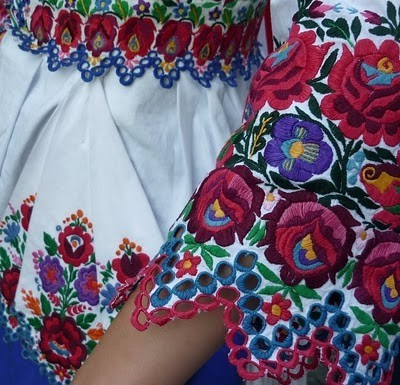 My Bohemian Style  Traditional Hungarian Matyo embroidery