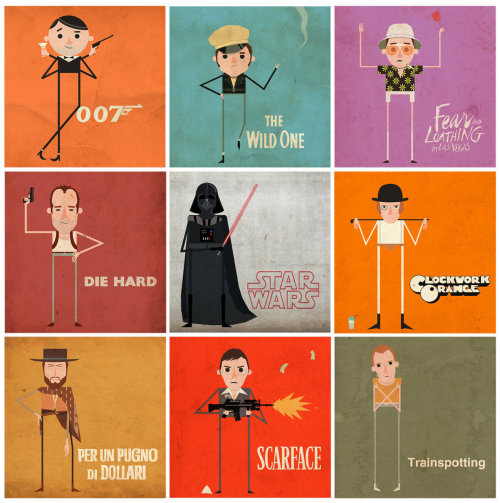 Great Films, Great Characters by Consolati brothers. DeviantART // Blog