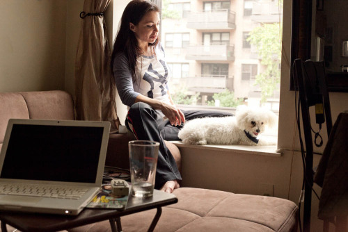 (Photo: Connie Tsang) Viktoria loves dogs. Last month I met her in her Upper East Side home, talked dogs and the animal rescue cause, and spent an afternoon hanging out with the pups.