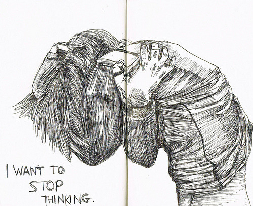 tumblr-sketchbook:  the mind. (by Lily Livingston)