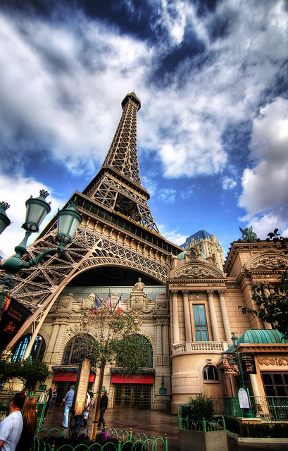 The Eiffel Tower in Las Vegas by Werner Kunz on Flickr.So far my favourite Vegas Eiffel picture.
