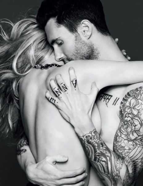 Adam Levine. Vogue Russia November 2011