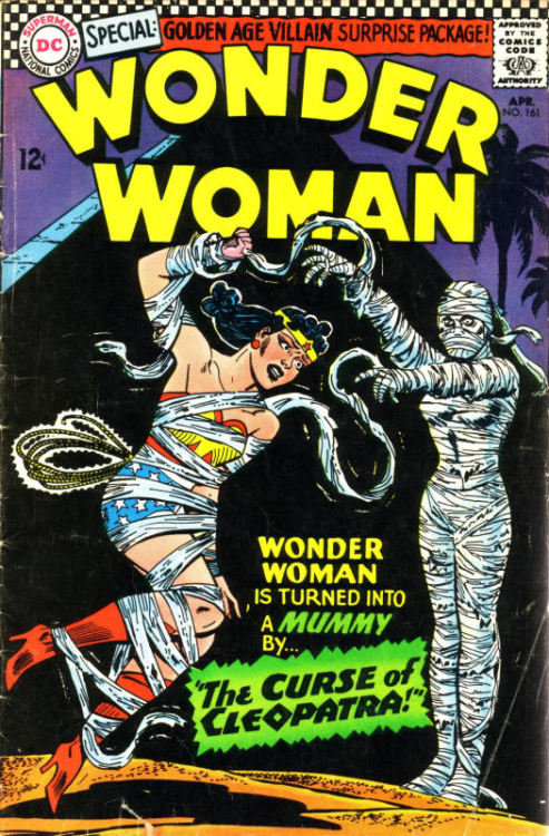 comicbookcovers:  Wonder Woman #161, April 1966, cover by Ross Andru and Mike Esposito