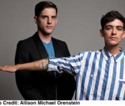 Interview with JD Samson of MEN re: their tour with CSS.  SFBG: Why name the band MEN? JD: The idea for the name came out of a feminist confidence boosting philosophy that Johanna was teaching me. If you are in a club and the promoter is being a dick, don't apologize to them, or feel guilty for existing. what would a man do? at the time she was telling me this, we were asked for a name for the project and we decided to go with MEN.  via Feminist dance pop: Q&A with MEN's JD Samson | San Francisco Bay Guardian