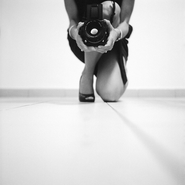 shooting the photographer on Flickr. Via Flickr: Rolleiflex T /  Ilford Delta Professional 3200 @ 800