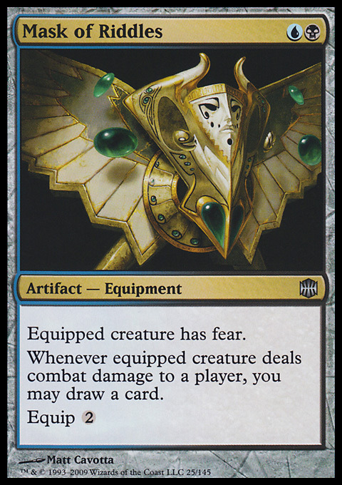 "One of my favorite cards to slap on ""when this creature deals combat damage to an opponent"" creatures… =D"