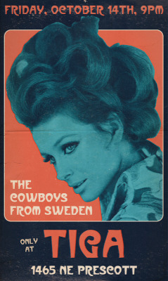 The Cowboys From Sweden, this Friday at Tiga