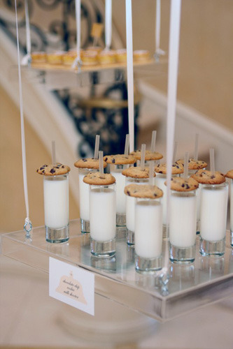Milk & cookie shooters
