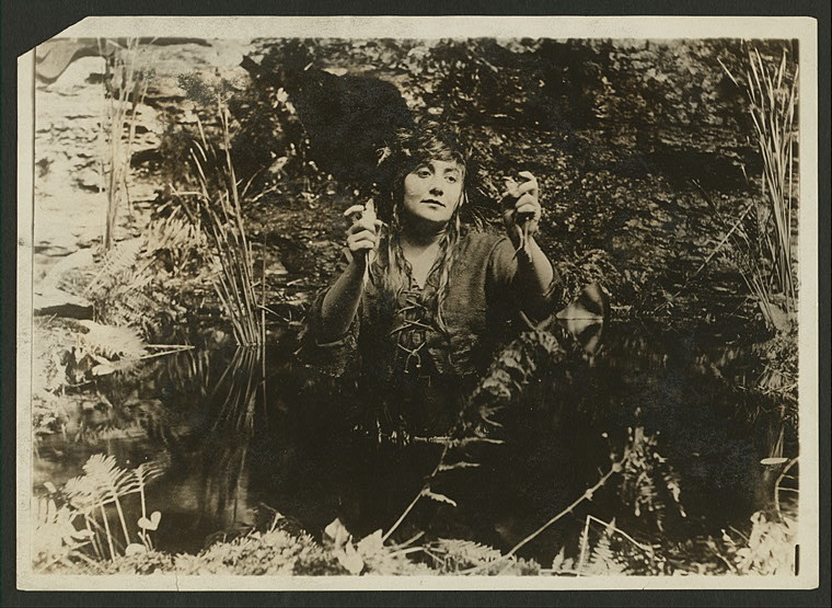 The Witch Girl (1915) - Billy Rose Theatre Collection