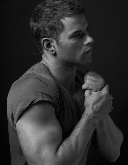 Kellan Lutz In GQ Australia