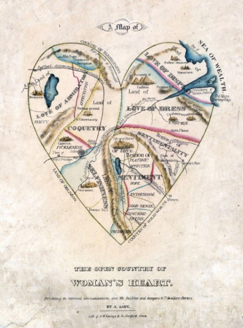 """The Map of a Woman's Heart"""