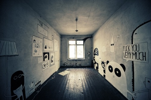 (via Urban Art Therapy in Creepy Backwoods Sanatorium | The Beautifulist)