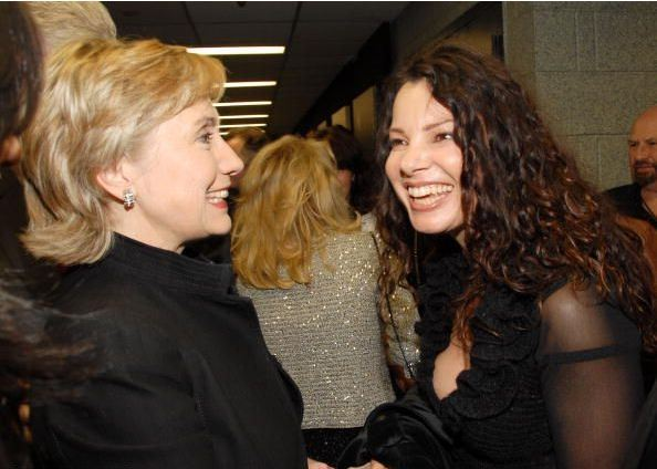 When Hilary Clinton and Fran Drescher met